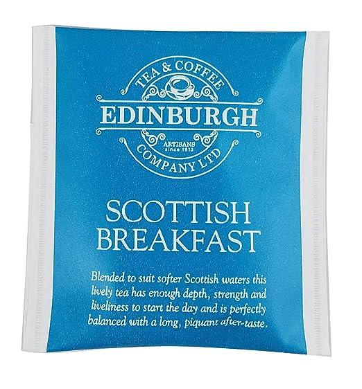 Edinburgh Tea & Coffee Company Scottish Breakfast Tea - 25 Count (Envelope/Tagged), 1.76 Ounce