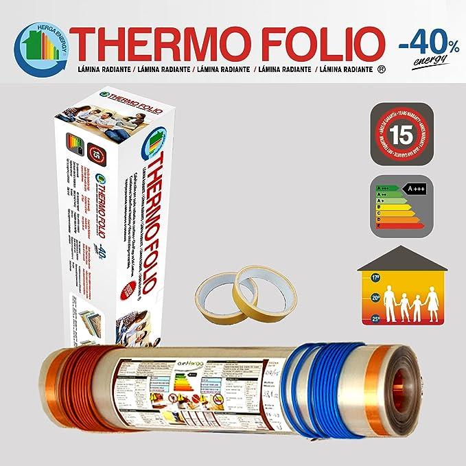 Calefacción Suelo Radiante en Continuo 1m2 - 120w/m2 y TERMOST. DIGITAL- 220V/3600W: Amazon.es: Bricolaje y herramientas
