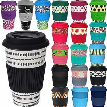 Amazon De Ls Design Oko Coffee To Go Kaffe Tee Becher Bamboo Bambus