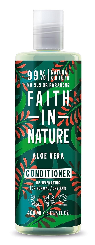 Faith in Nature - Faith in Nature - Balsamo con Aloe Vera 100% Naturale Per tutti I Tipi di Capelli - Per Lavaggi Frequenti - Senza Parabeni - Vegano Faith Products Ltd 8566