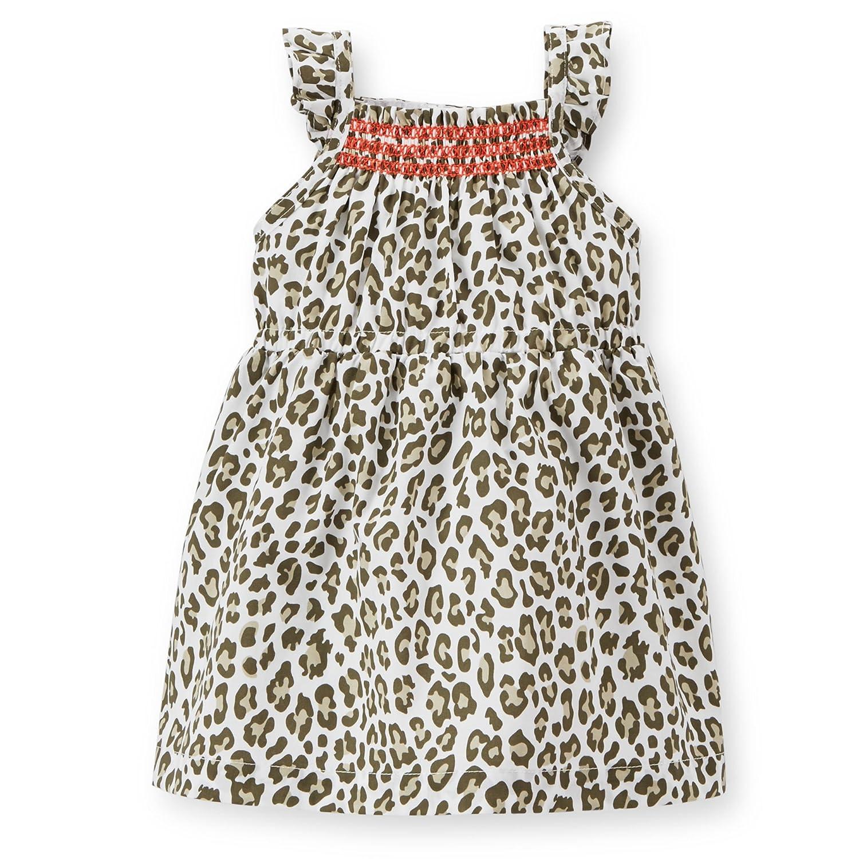 Carters Poplin Leopard Dress