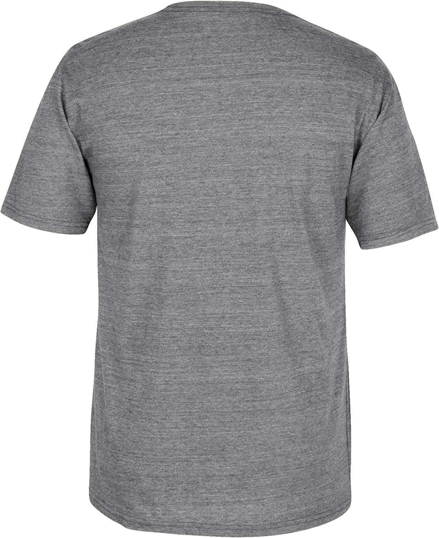X-Large adidas NHL Brooklyn Americans CCM Heritage 1 Tri-Blend Short Sleeve Tee Dark Grey Heathered
