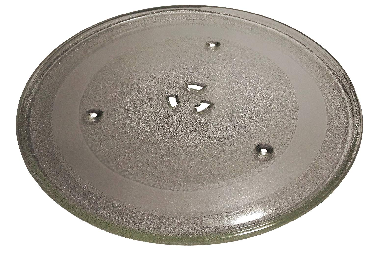 LG / Goldstar Microwave Glass Turntable Tray / Plate 12 3/4 Inch