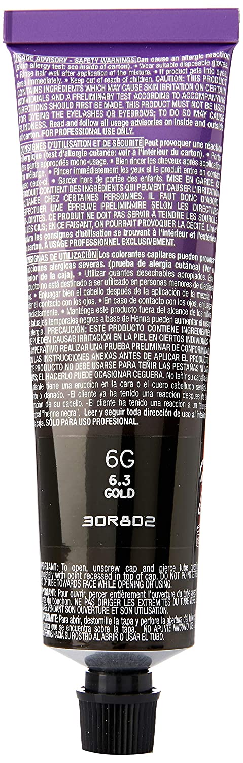 Redken Chromatics - Cuidado capilar, color 6.3 gold, 63 ml