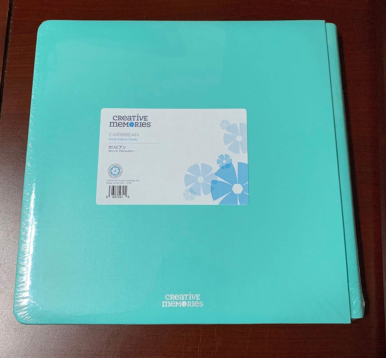 Creative Memories 12X12 Scrapbook Coverset Album Teal Blue Aqua