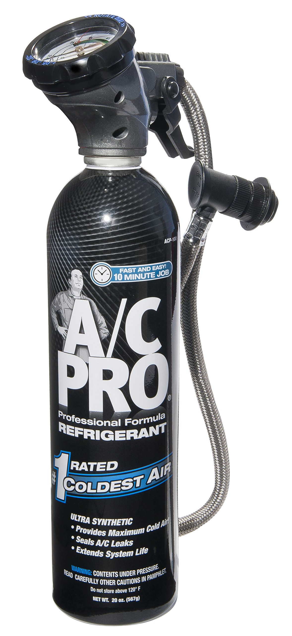 Interdynamics A/C Pro Ultra Synthetic A/C Recharge R-134a (20 ounces) by Interdynamics
