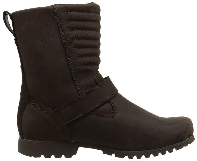 Cat Darcy WP Botas Talla Marrón Color Footwear de 37 Caño Alto Mujer de Cuero SrawSx5q