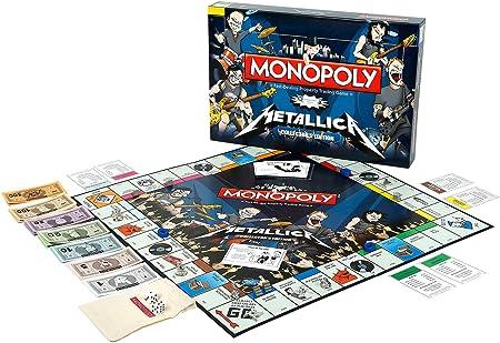 Monopoly Metallica: Amazon.es: Juguetes y juegos