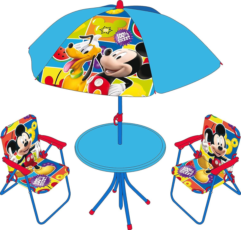 Disney Table parasol et 2 chaises Cars Set 4 pi/èces