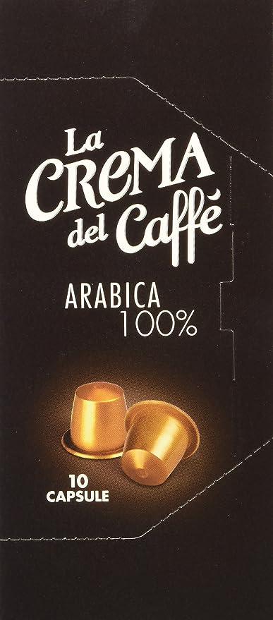 6 opinioni per La Crema del Caffè Capsule Compatibili Nespresso Arabica 100%- 120 capsule