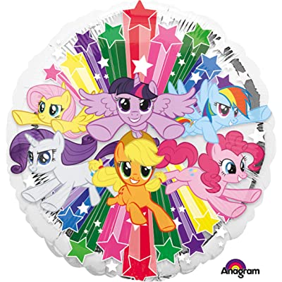 Anagram My Little Pony Gang 18 Inch Foil Balloon: Home & Kitchen