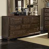 Coaster Home Furnishings 201075R Rustic Dresser, Cocoa Brown