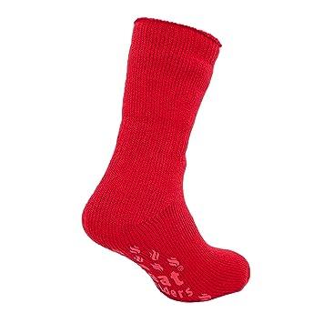 Calcetines para dormir Hombres Rojo Rico Térmicos Conservadores del calor Tallas 39 - 46: Amazon.es: Bebé