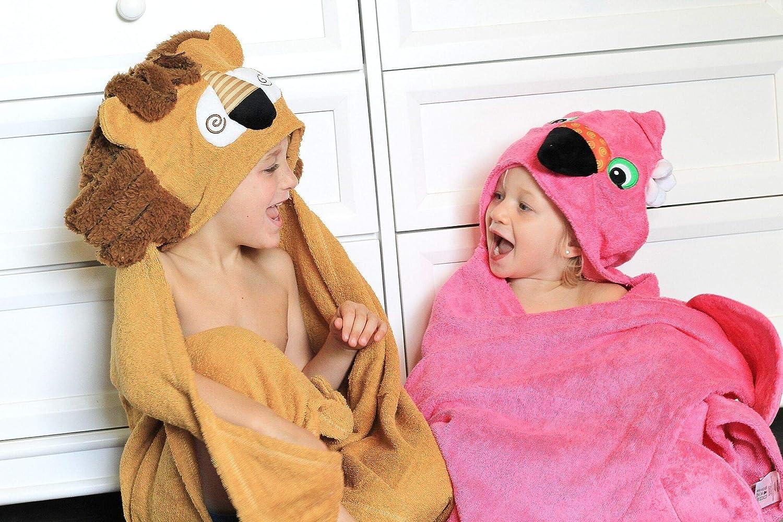 Zoocchini Badetuch Kinder Motiv Leo der L/öwe