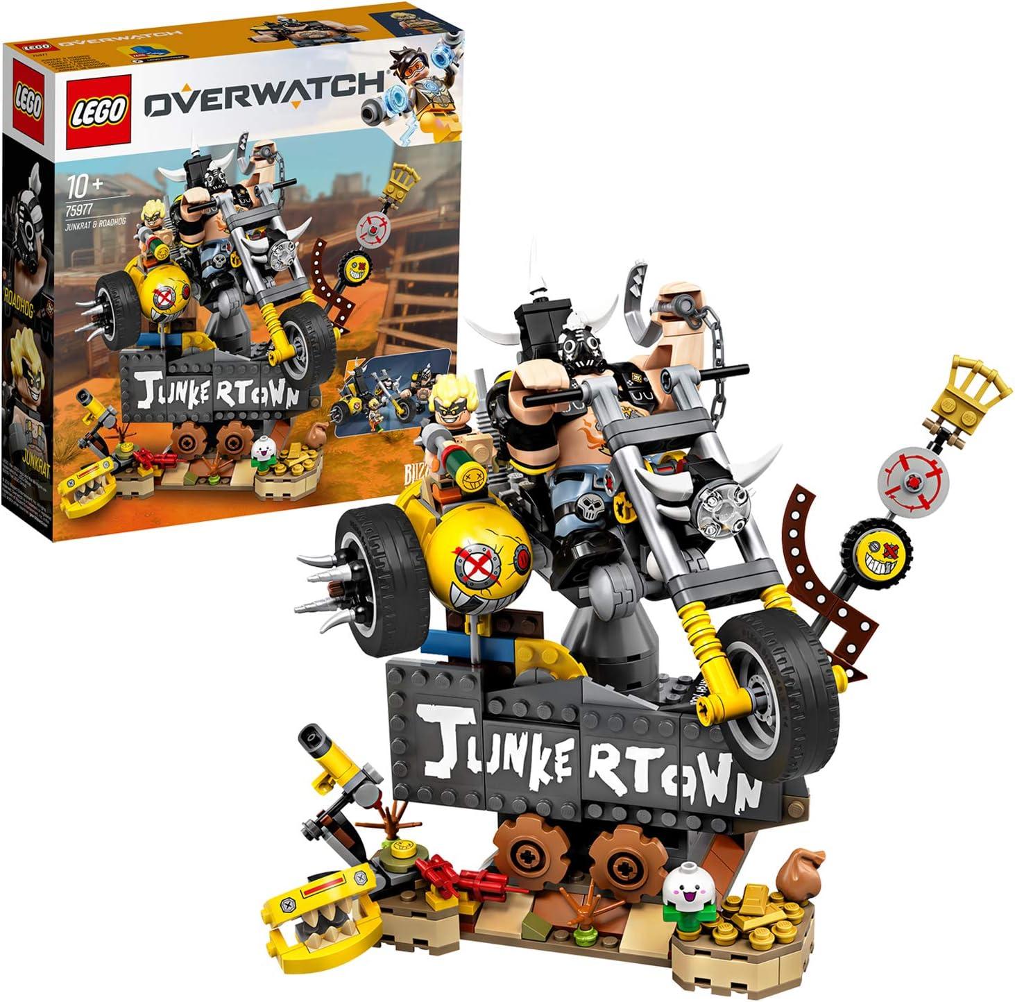 LEGO Overwatch - Junkrat y Roadhog, Set de Construcción inspirado ...