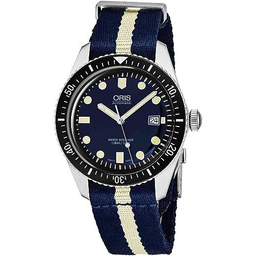 Oris Divers Sixty-Five Reloj de hombre automático 42mm 01 733 7720 4055-LS29: Amazon.es: Relojes