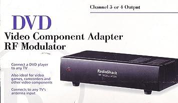 amazon com radio shack rf modulator 15 1214 electronics rh amazon com S-Video RF Modulator with RCA Inputs Philips RF Modulator