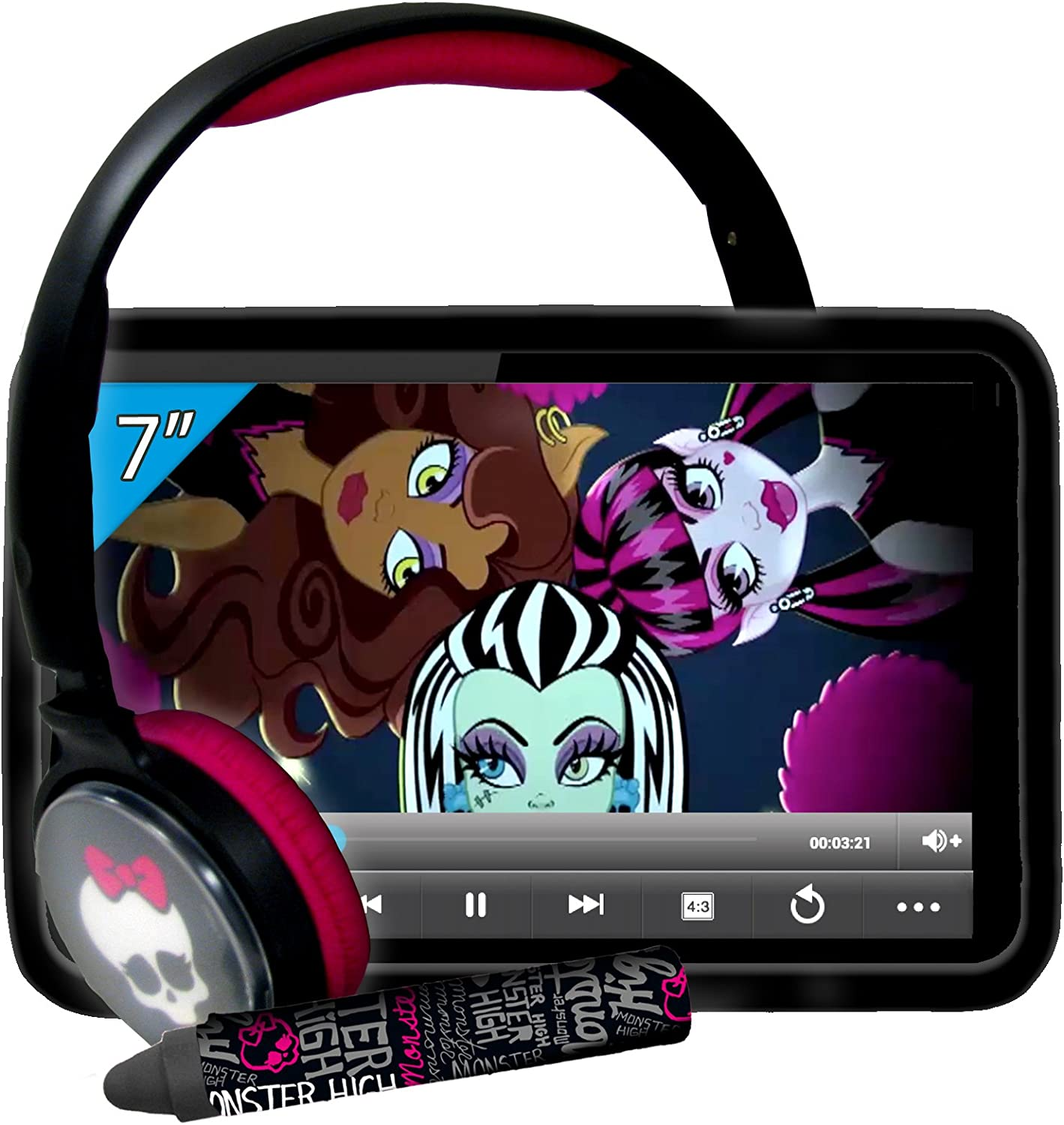 Ingo Monster High - Super Pack 7 (Incluye Tablet de 7