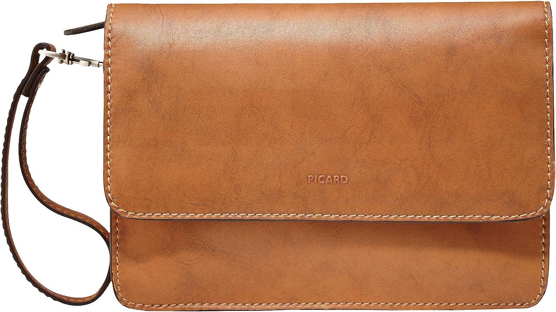 H//B//T 8362 Picard Wrist Bag Toscana Reise Cuero Small 17 x 24 x 6 cm Hombre Bolsos de Mano