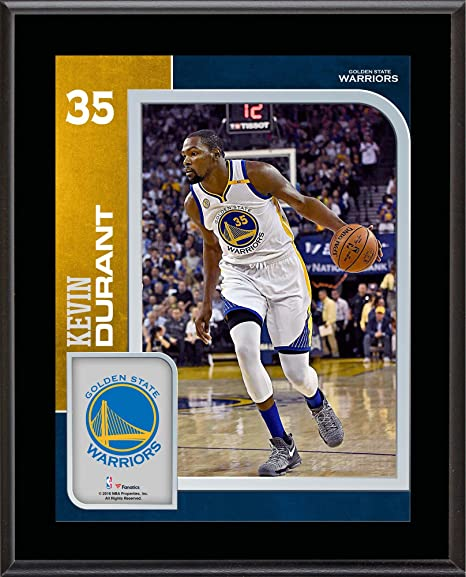 6342b1595c25 Kevin Durant Golden State Warriors 10.5 quot  x 13 quot  Sublimated Player  Plaque - NBA Player