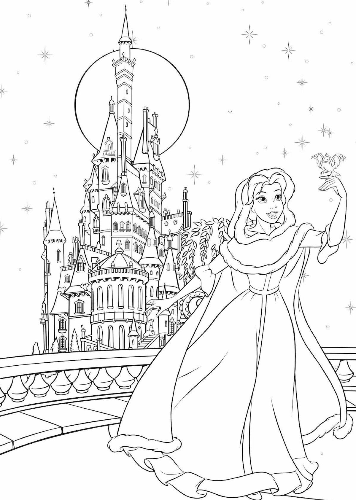 Disney Kreativ Disney Prinzessin 100 Motive Zum Ausmalen Und