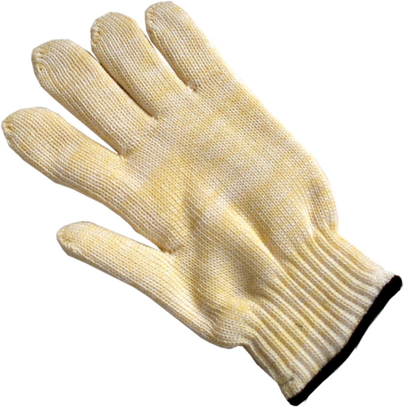 1 Paar Schutzhandschuhe aus Nomex® Größe 10 bis 100 Grad EN 388+407 KEVLAR