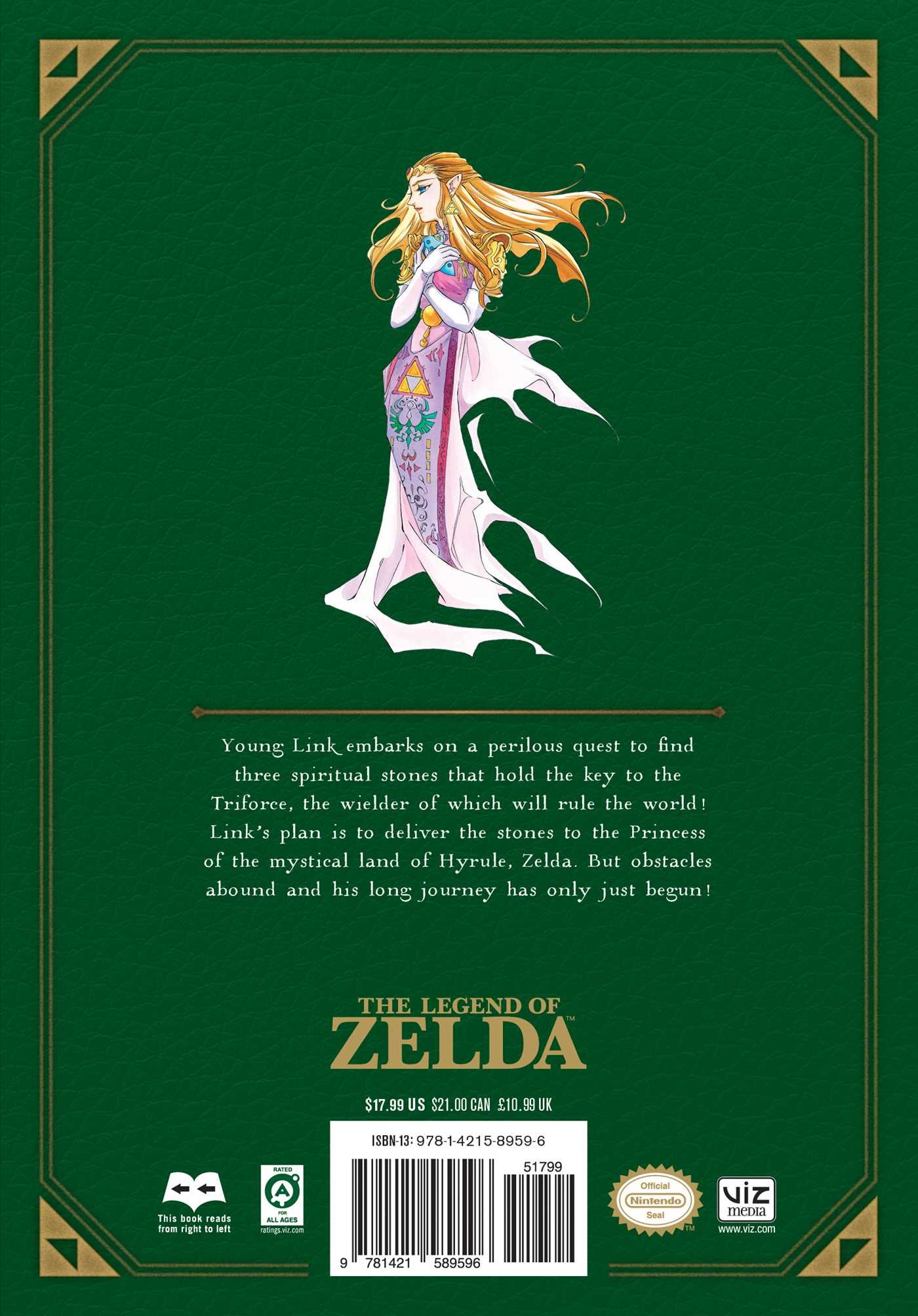 The Legend Of Zelda Ocarina Of Time Legendary Edition The Legend Of Zelda Legendary Edition Himekawa Akira 9781421589596 Amazon Com Books
