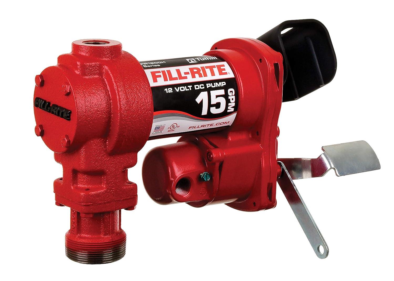 Fill-Rite FR1204H 12V 15 GPM Fuel Transfer Pump (Pump Only): Industrial & Scientific