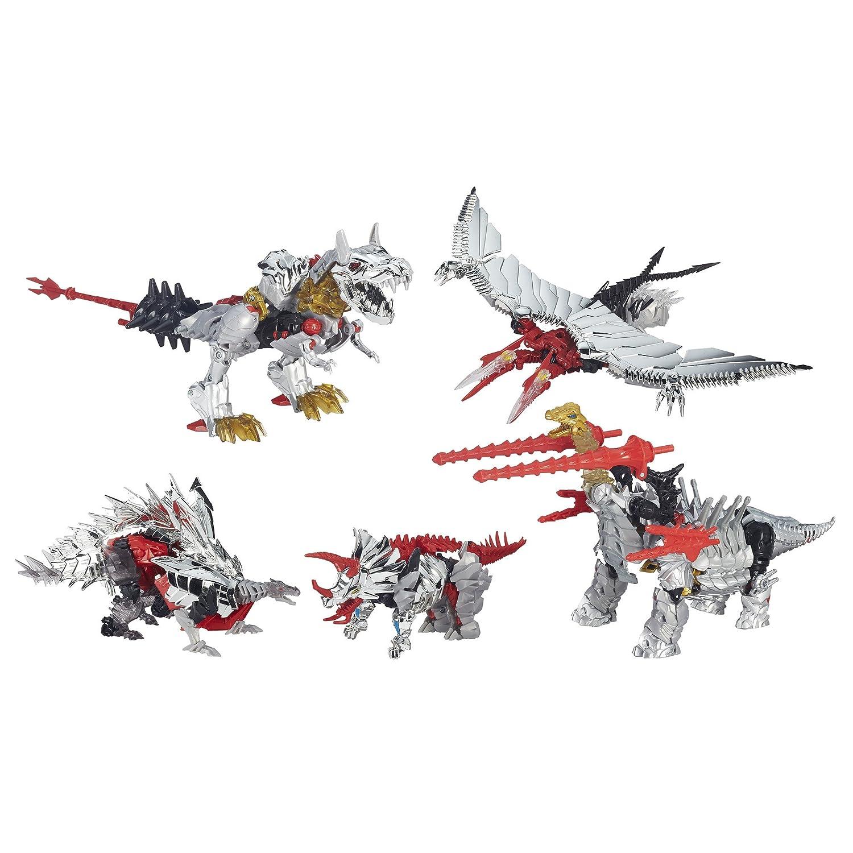 Transformers Platinum Edition Dinobots 5Pack G1Head Grimlock Slug Schinderei Set of 5by Transformers