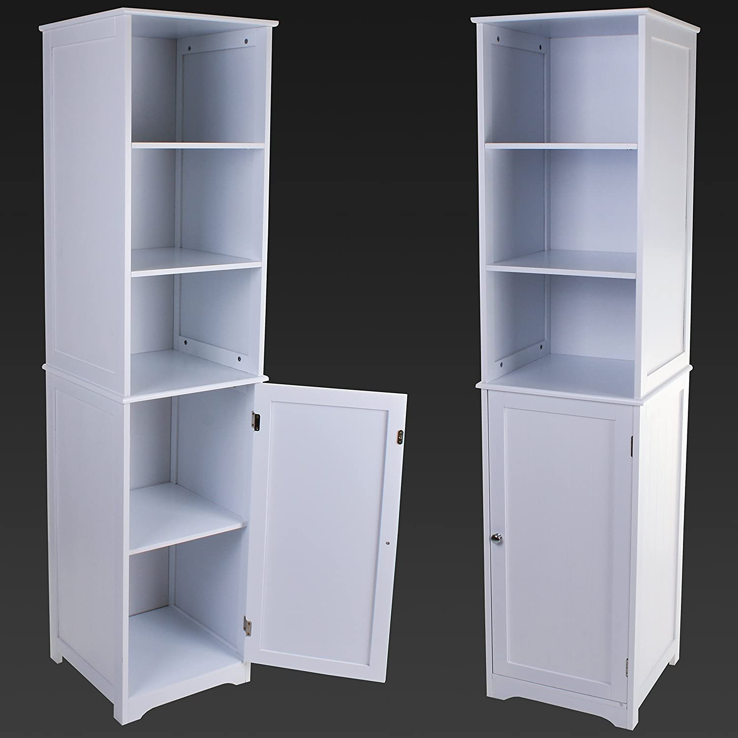 Tallboy Bathroom Cabinets Tallboy Living Room Bathroom Kitchen Display Cabinet Hallway