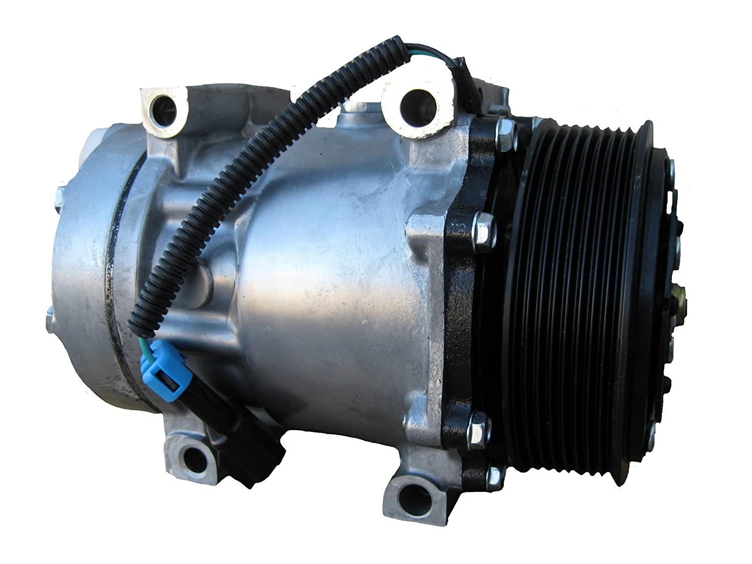 Amazon.com: Ford International Sanden Type 4816 AC Compressor W/ Clutch: Automotive