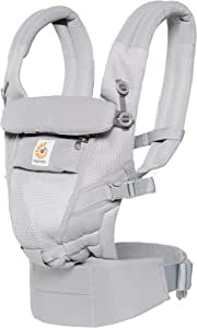 Ergobaby Adapt Cool Air Mesh Baby Carrier, Pearl Grey