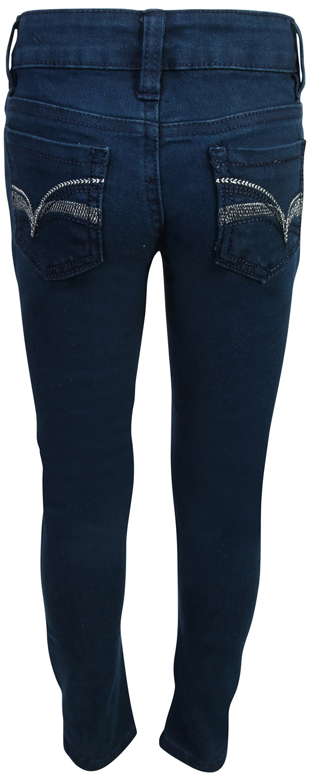 Real Love Girls Skinny Jeans, Black & Blue (2 Pack) Size 6 by Real Love (Image #5)