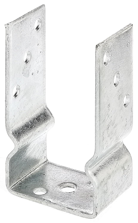 sujeci/ón con tornillos, galvanizado GAH-Alberts Soporte en U para poste