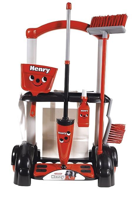 Casdon 630 Little Helper - Carrito de la limpieza de juguete con accesorios