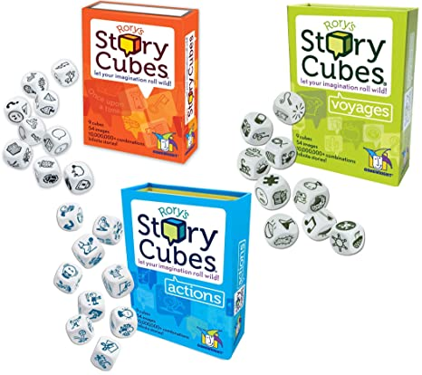 Image result for story cubes