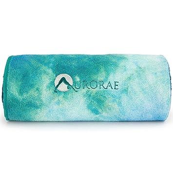 Amazon.com: Aurorae - Toalla de microfibra, tapete de Yoga ...
