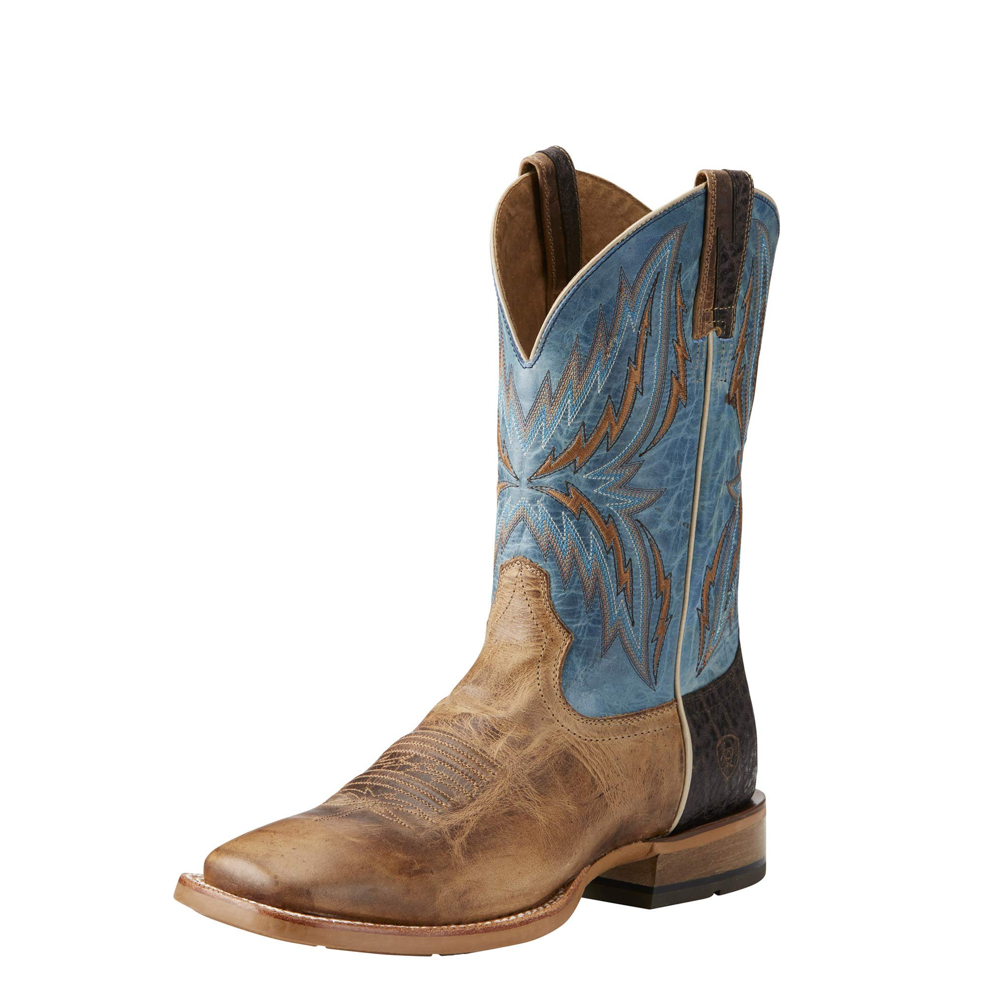 ARIAT Men's Arena Rebound Western Boot Dusted Wheat Size 9 N Us by ARIAT