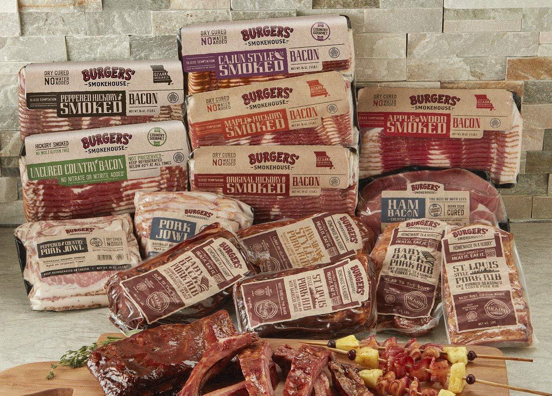 Burgers' Smokehouse Colossal Bacon & Rib Sampler