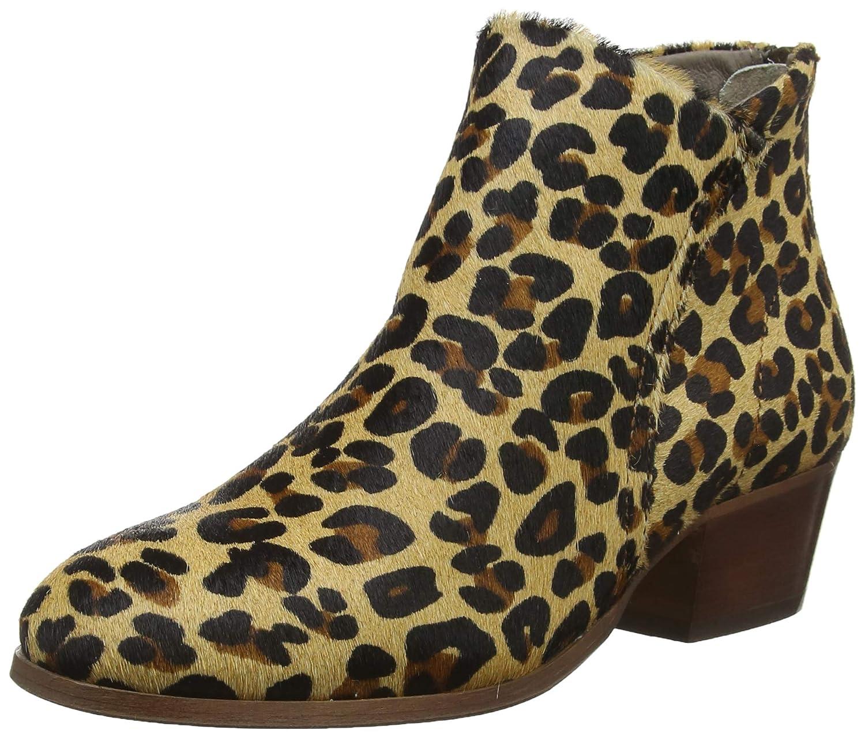 MultiCouleure (Leopard (Leopard (Leopard 64) Hudson Apisi Pony, Bottines Femme 5b5