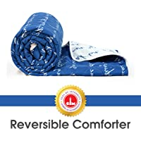 Divine Casa Polyester Blanket/Quilt/Duvet/Comforter Light Easyweight, AC Single Dohar and Comforter