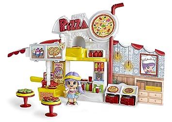 Multicolor Pinypon Motorbike Pizzeria 700014911 Minimu/ñecas