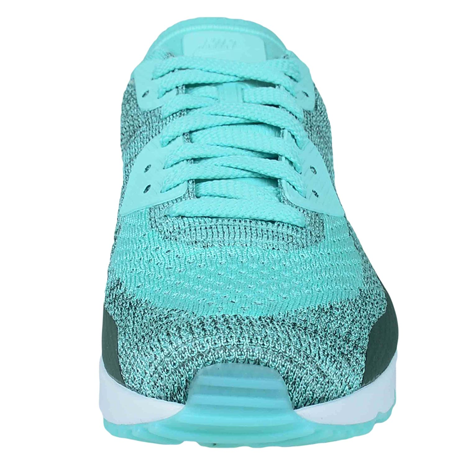 finest selection 3a0b8 76ef4 Amazon.com   Nike AIR MAX 90 Ultra 2.0 Flyknit Hyper Turquoise Mens Running 875943  301   Fashion Sneakers