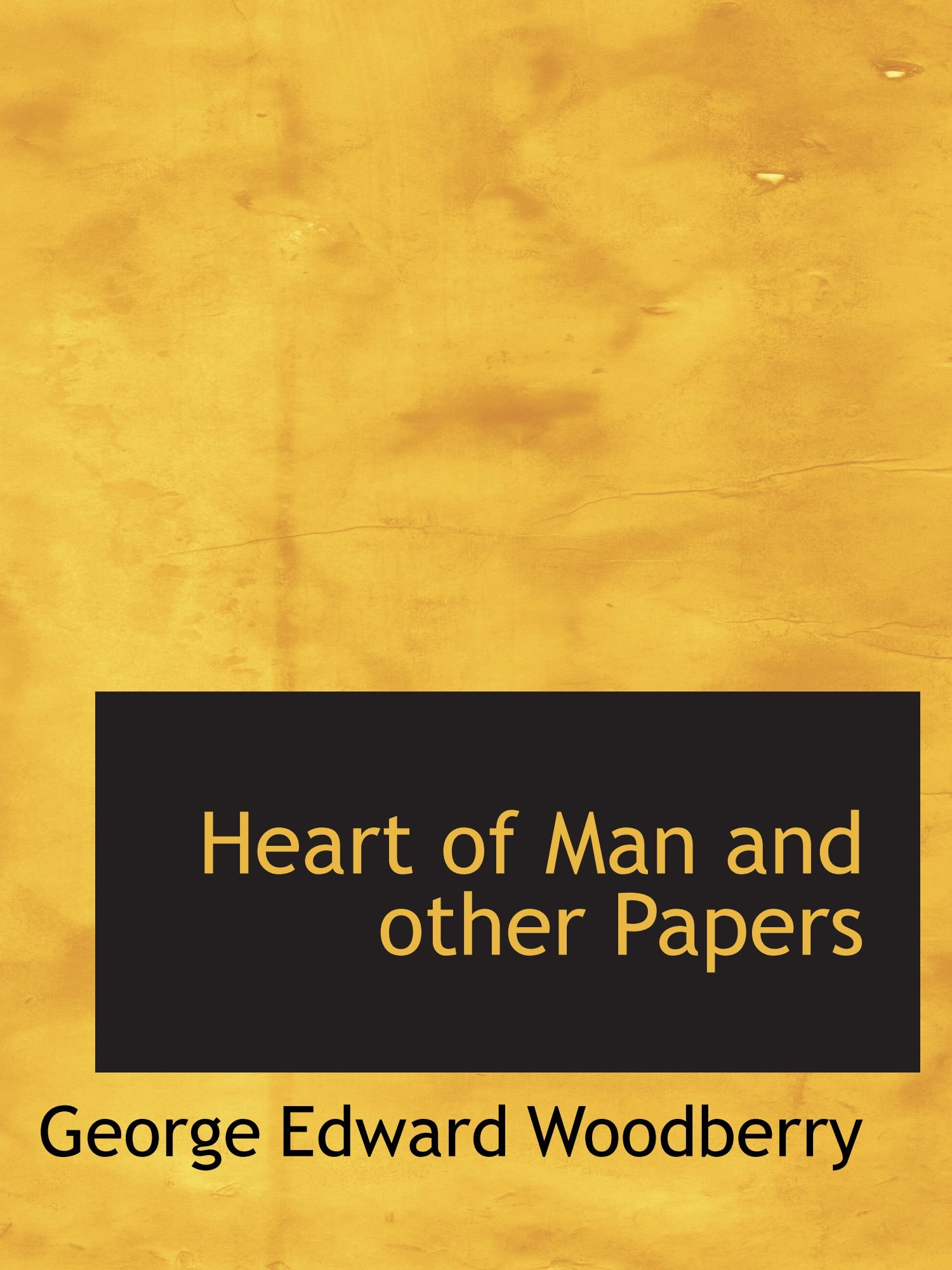 Download Heart of Man and other Papers pdf epub