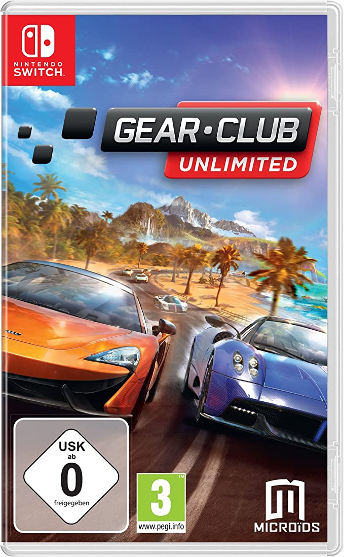 Gear Club Unlimited - Nintendo Switch [Importación alemana ...