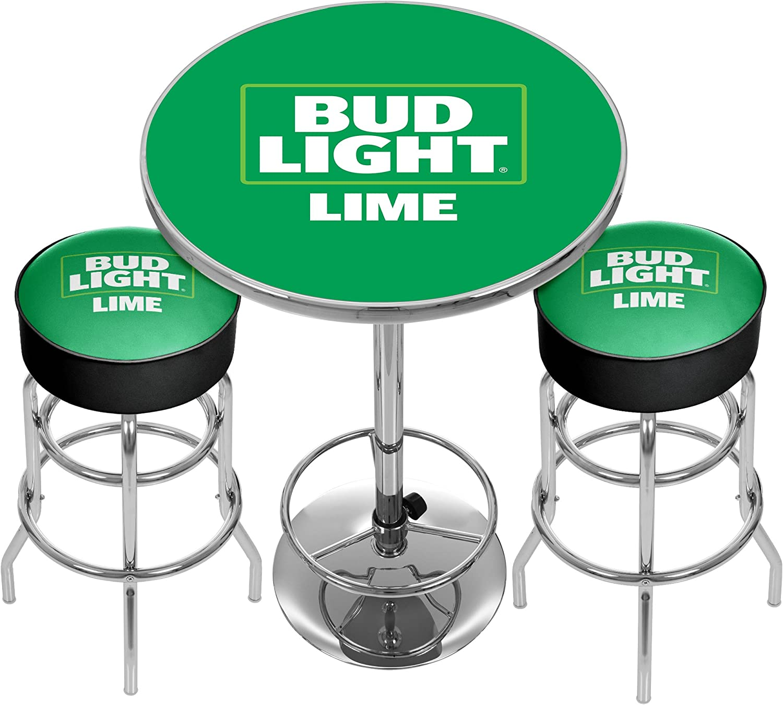 Trademark Global Marca Ultimate Bud Light Verde Lima Gameroom ...