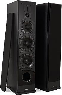 Dynavoice Definition DF-8 Black - Coppia Diffusori Acustici da Pavimento 3  Vie Bass Reflex a3f59b10c8e02