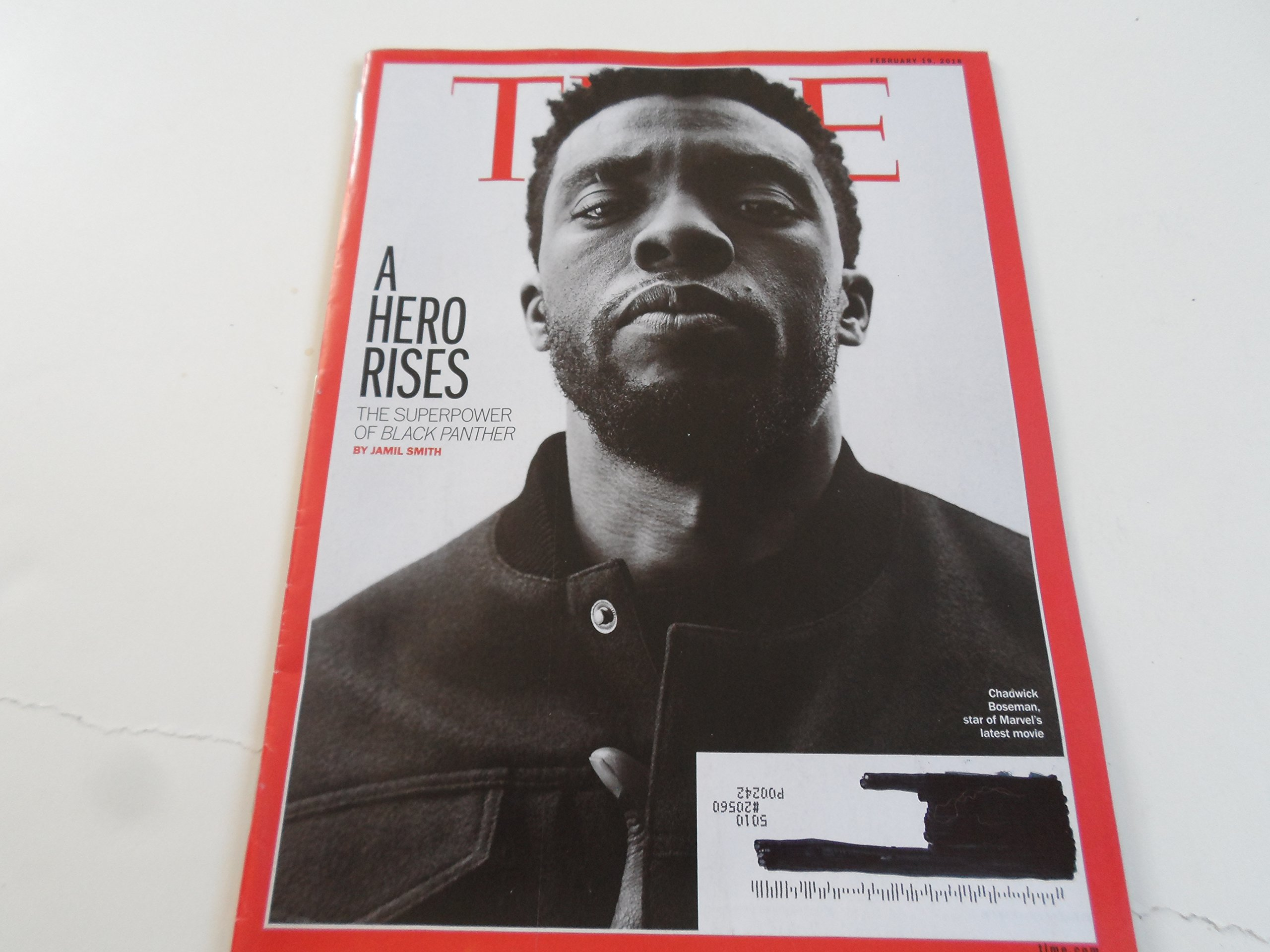 Time Magazine (February 19, 2018) Chadwick Boseman Cover Super Power of Black Panther ebook