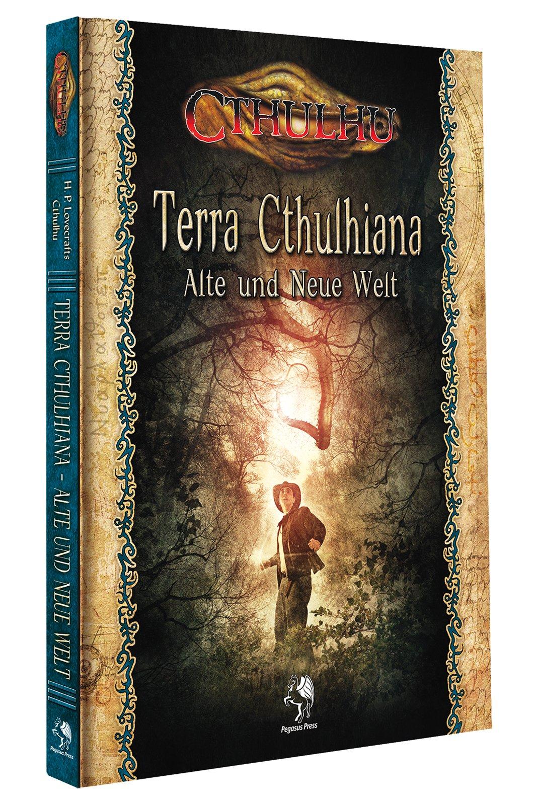 Cthulhu: Terra Cthulhiana - Alte und Neue Welt (Hardcover) Gebundenes Buch – 5. Januar 2017 Unbekannt Pegasus Spiele GmbH 3957890977 Spielen / Raten