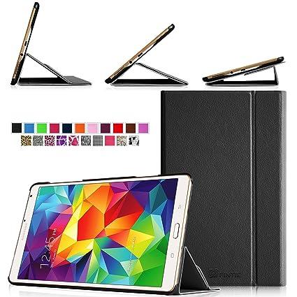 the best attitude 2951f 5fe4e Amazon.com: Fintie Samsung Galaxy Tab S 8.4 (8.4-Inch) Smart Book ...